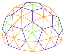 3 Frequency 5/8 Geodesic Dome