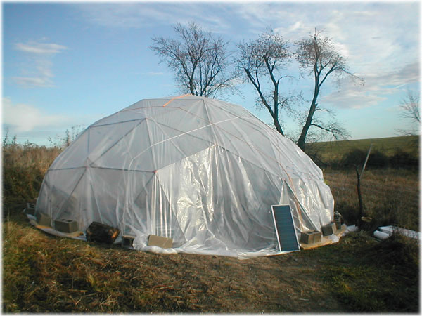 Greenhouse geodesic dome